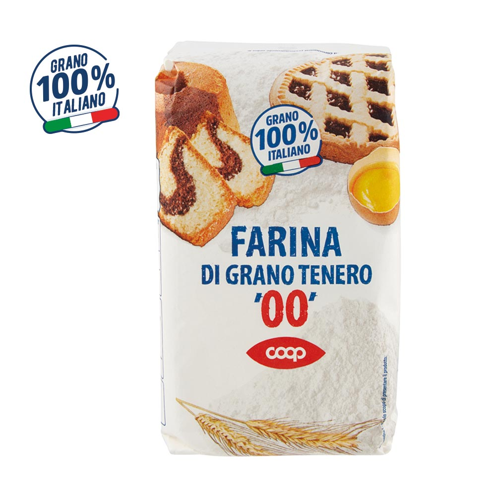 FARINA DI GRANO TENERO 00 COOP